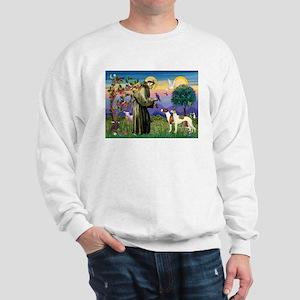 St Francis & Whippets Sweatshirt