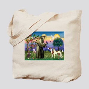 St Francis & Whippets Tote Bag