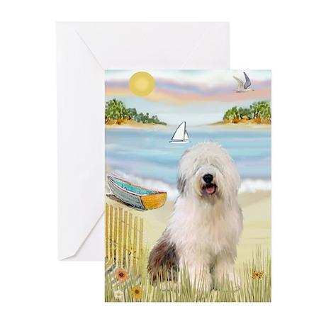 Rowboat & Sheepie Greeting Cards (Pk of 10)