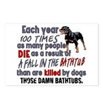 Killer Bathtubs Postcards (Package of 8)