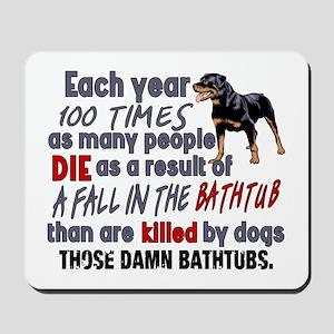 Killer Bathtubs Mousepad