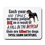 Killer Bathtubs Mousepad