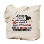 Killer Bathtubs Tote Bag