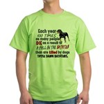 Killer Bathtubs Green T-Shirt
