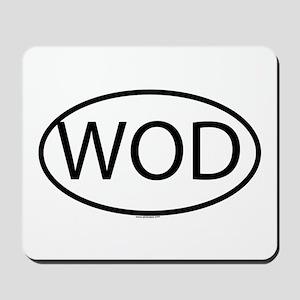 WOD Mousepad