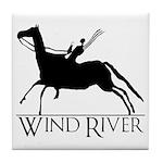 Wind River Press Tile Coaster