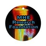 The MHE Research Foundation Ornament (Round)