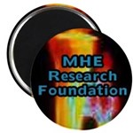 "The MHE Research Foundation 2.25"" Magnet (100 pack"
