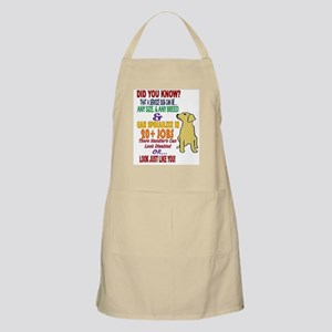 did you know service dog education Light Apron