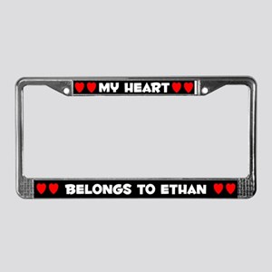 My Heart: Ethan (#001) License Plate Frame