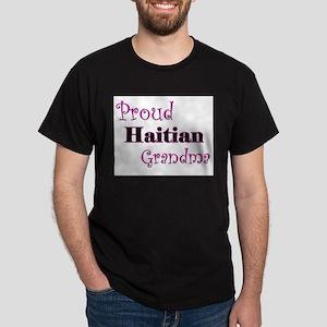 Proud Haitian Grandma Dark T-Shirt