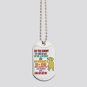 did you know service dog education Dog Tags