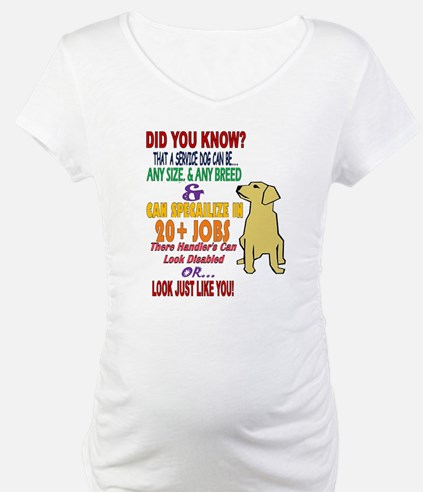 did you know service dog education Shirt