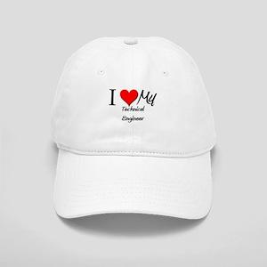 I Heart My Technical Engineer Cap
