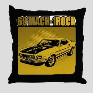 69' Mach 1 Throw Pillow