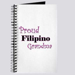 Proud Filipino Grandma Journal