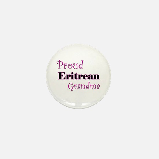 Proud Eritrean Grandma Mini Button