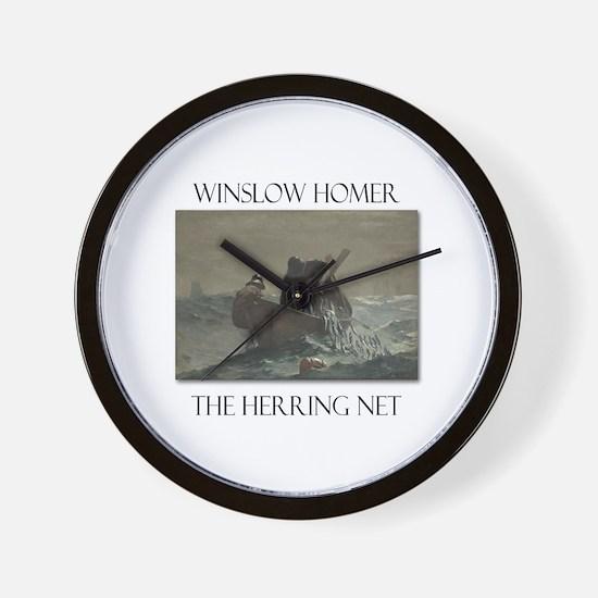 Herring Net Wall Clock