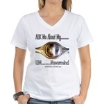 FORD 9 inch Women's V-Neck T-Shirt