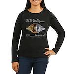FORD 9 inch Women's Long Sleeve Dark T-Shirt