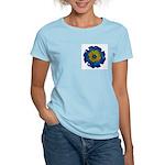 Flower Brooch 2 Women's Light T-Shirt