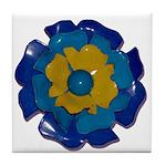 Flower Brooch 2 Tile Coaster