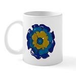 Flower Brooch 2 Mug