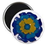 """Flower Brooch 2 2.25"""" Magnet (10 pack)"""