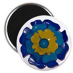 """Flower Brooch 2 2.25"""" Magnet (100 pack)"""