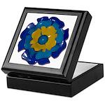 Flower Brooch 2 Keepsake Box