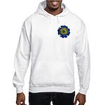 Flower Brooch 2 Hooded Sweatshirt