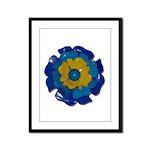 Flower Brooch 2 Framed Panel Print