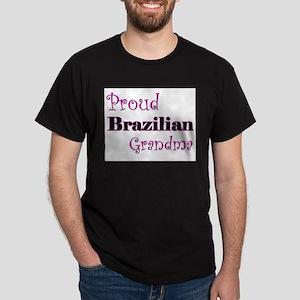 Proud Brazilian Grandma Dark T-Shirt