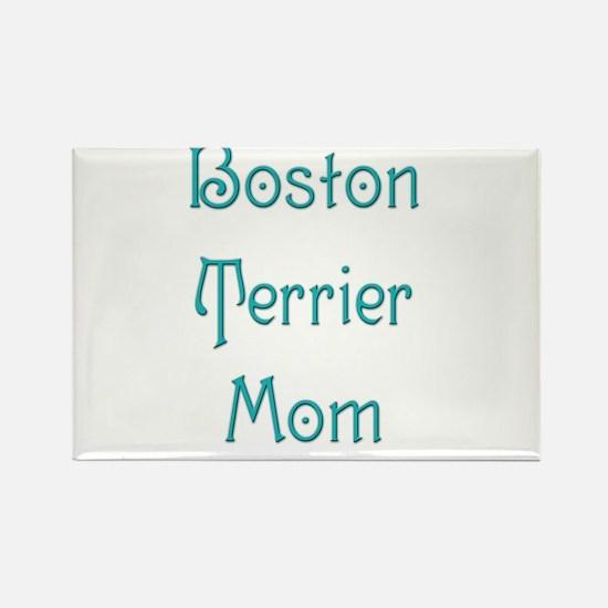 Boston Mom 10 Rectangle Magnet