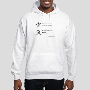 Reiki Kanji Hooded Sweatshirt