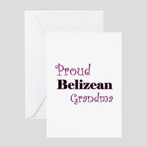 Proud Belizean Grandma Greeting Card