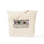 Doggie Line-up Tote Bag