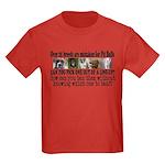 Doggie Line-up Kids Dark T-Shirt