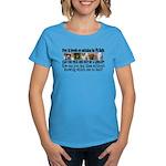 Doggie Line-up Women's Dark T-Shirt