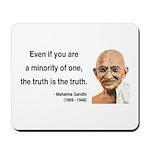 Gandhi 12 Mousepad