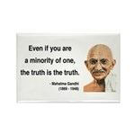 Gandhi 12 Rectangle Magnet (100 pack)
