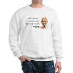 Gandhi 12 Sweatshirt
