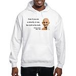 Gandhi 12 Hooded Sweatshirt