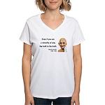Gandhi 12 Women's V-Neck T-Shirt