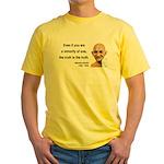 Gandhi 12 Yellow T-Shirt
