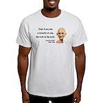 Gandhi 12 Light T-Shirt