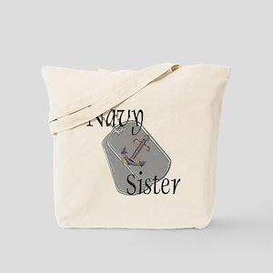 Anchor Navy Sister Tote Bag