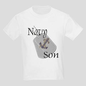 Anchor Navy Son Kids Light T-Shirt