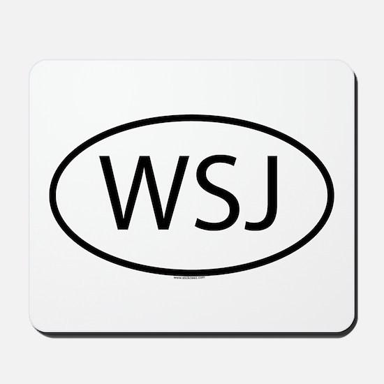 WSJ Mousepad