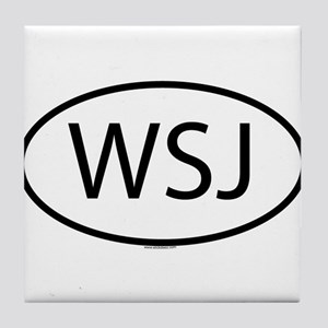 WSJ Tile Coaster